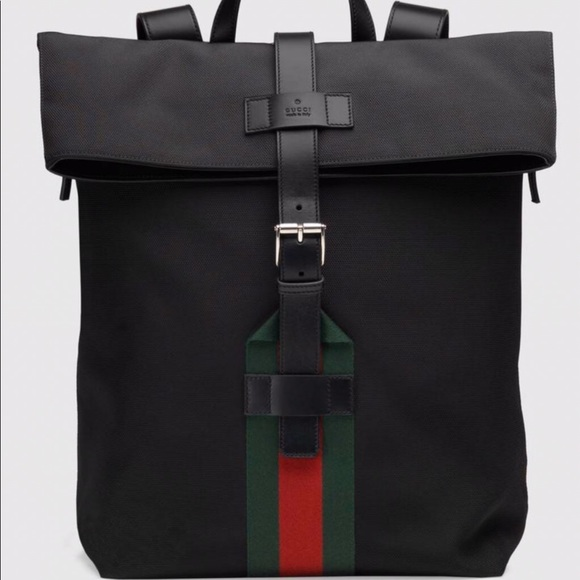 51671f356a0 Gucci Handbags - Gucci techno canvas backpack